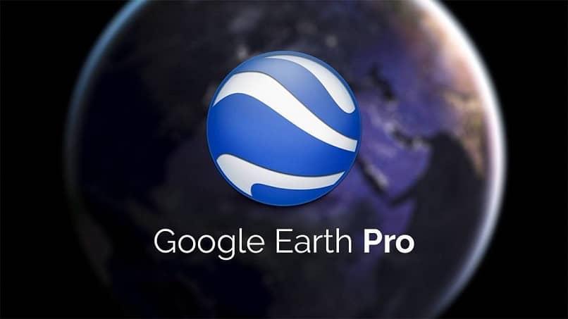aplicación Google Earth Pro