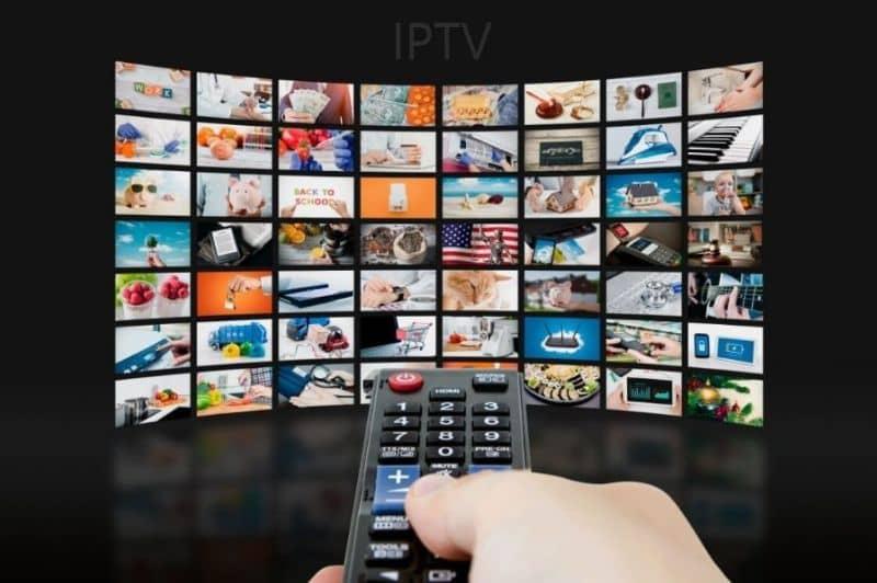 IPTV inteligente con control remoto