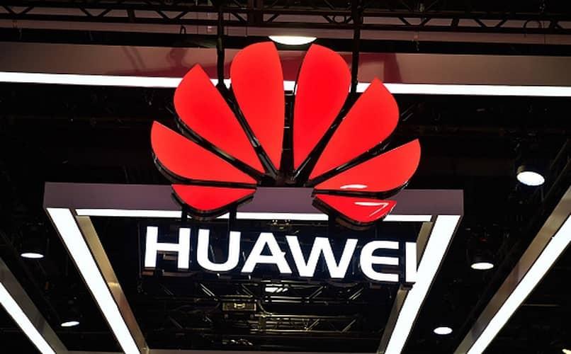 entrada de la tienda Huawei