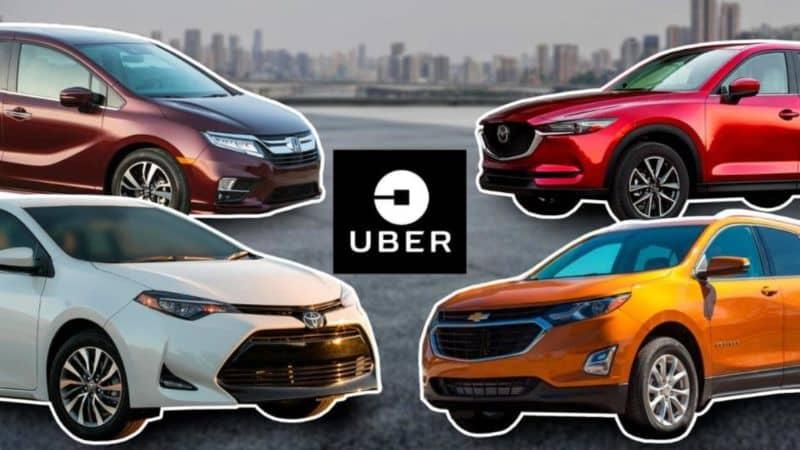 diferentes autos uber