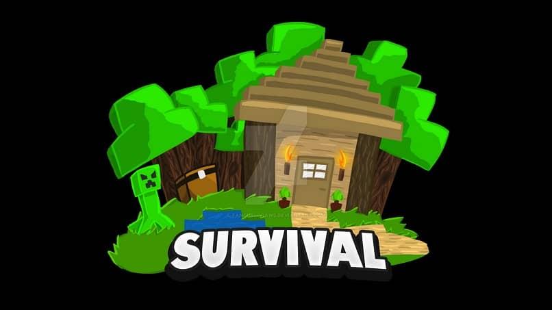 logo de dibujos animados de minecraft