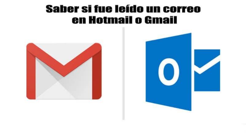 Logotipos de Gmail y Hotmail