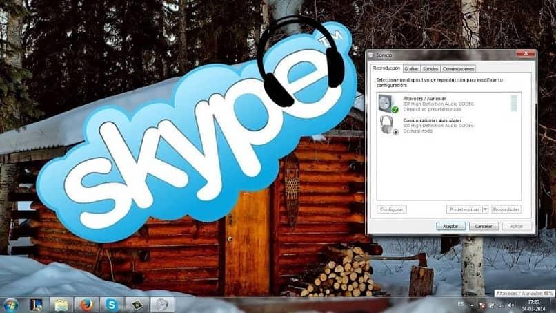 La llamada de Skype no suena