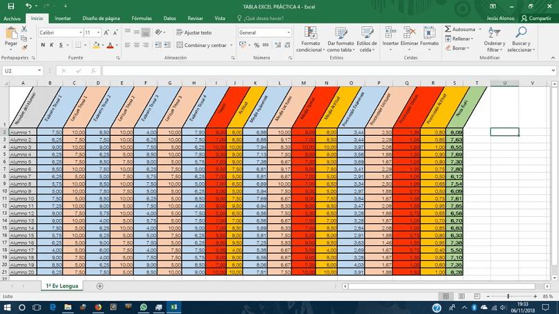 funciones de Excel más utilizadas