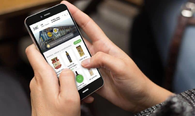 aplicación para manos móviles lidl plus