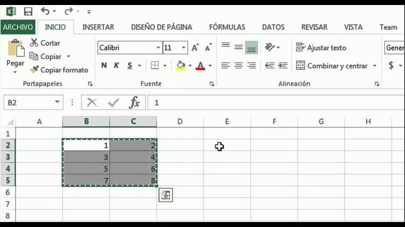 transferir filas y columnas superan a la hoja de cálculo