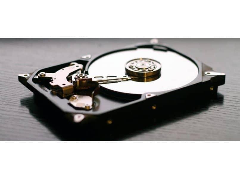 fotografía de disco duro