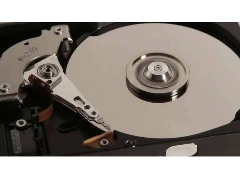 imagen del disco duro