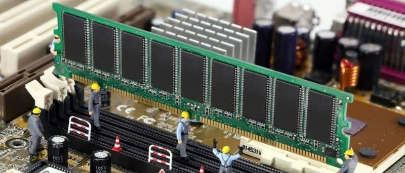 placa base de la computadora