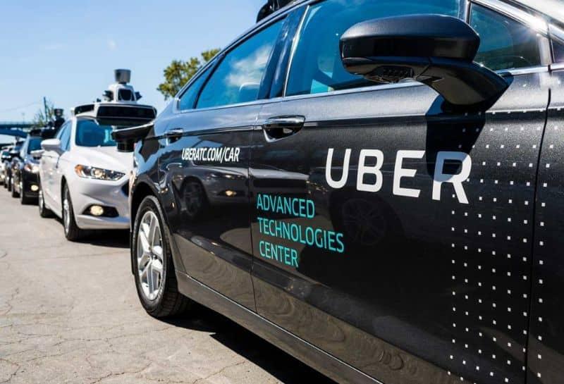 coche de tecnología uber