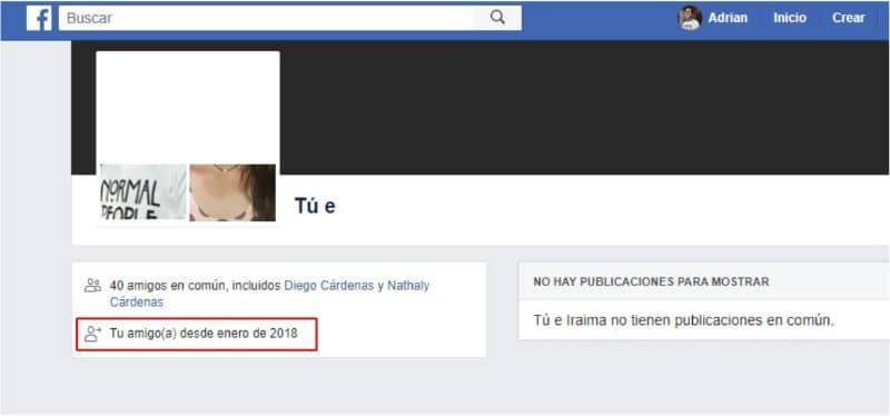 Tu amigo de Facebook