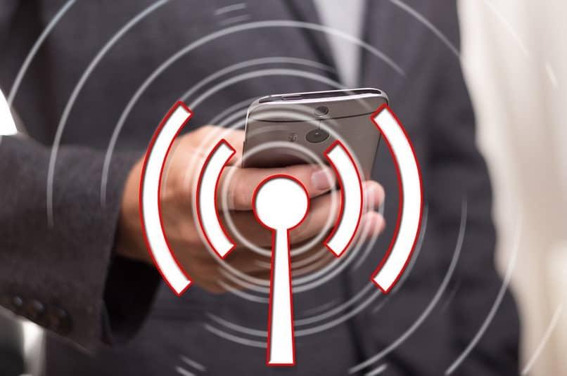 conexión inalámbrica a internet