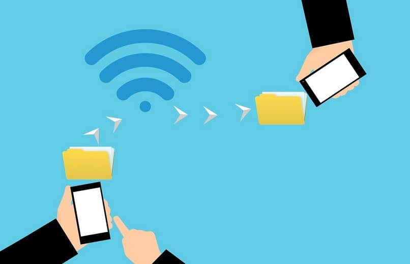 compartir archivos wifi
