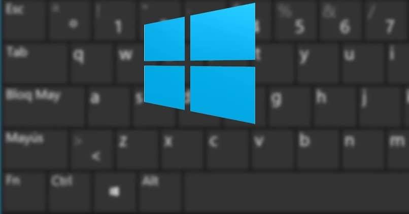 sistema operativo del teclado de la pc de windows