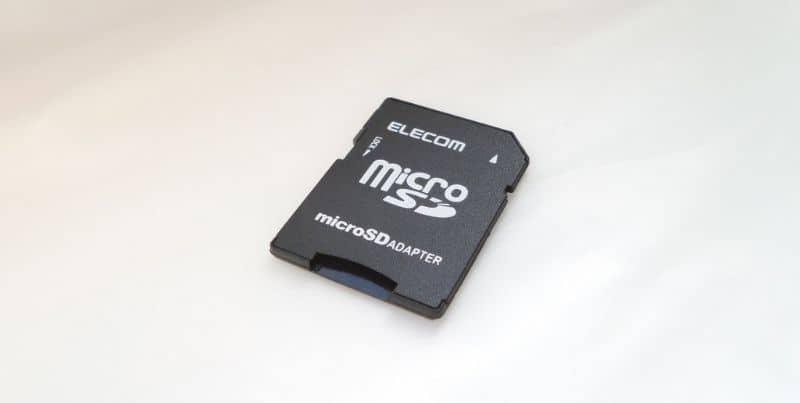 tarjeta micro SD