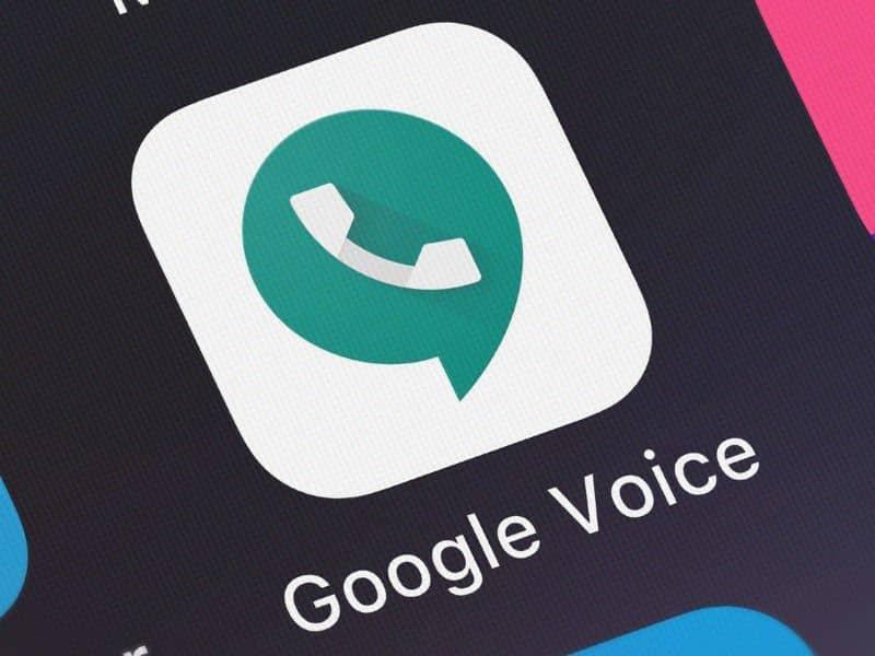 Aplicación móvil Google Voice