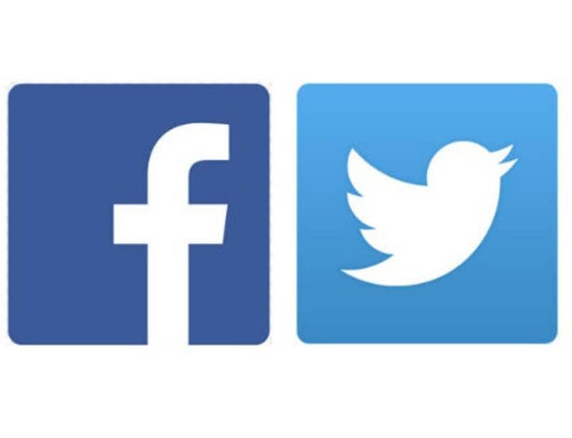 enlace a cuentas de redes sociales