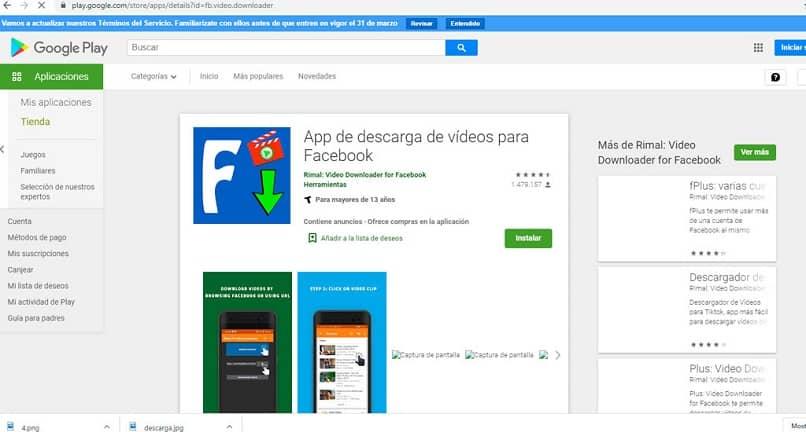 video facebook whatsapp