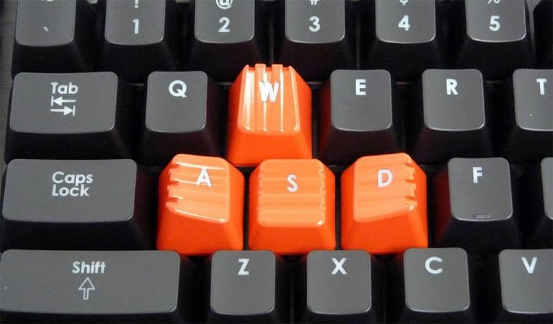 Llaves de ventana naranja