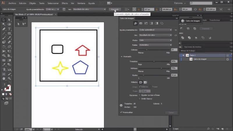 hacer logo con ilustrador vectorial