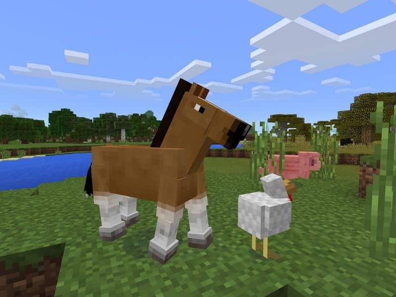 Minecraft Animales