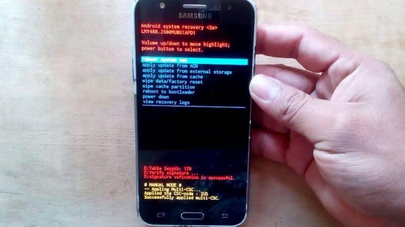 Recuperación de Android para móviles