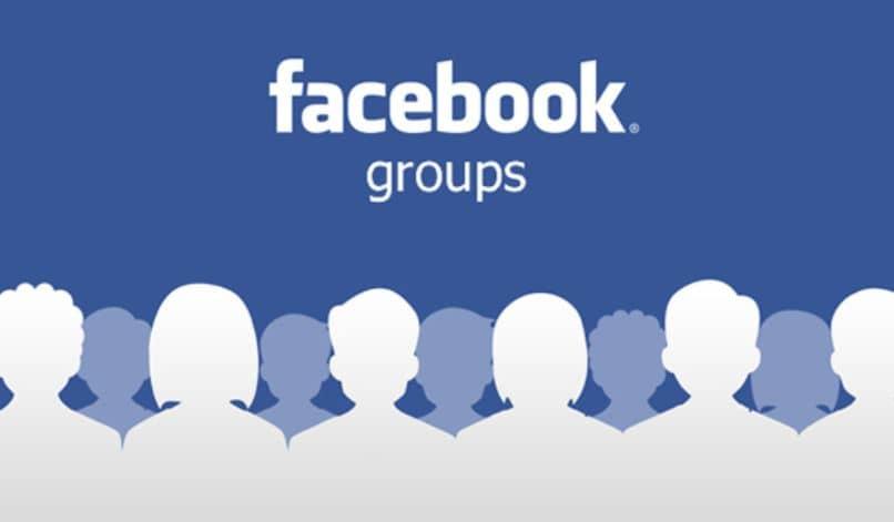 siluetas de grupos de página de facebook