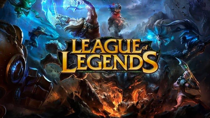 Portada de League of Legends