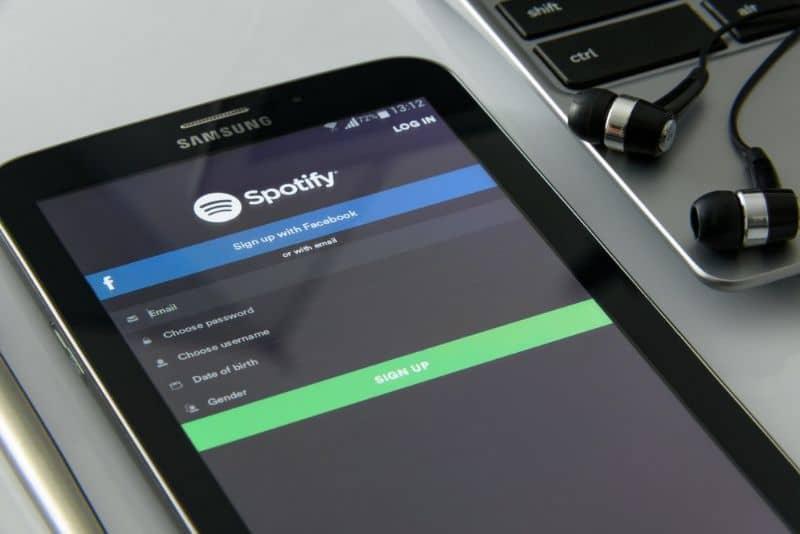 Aplicación Spotify