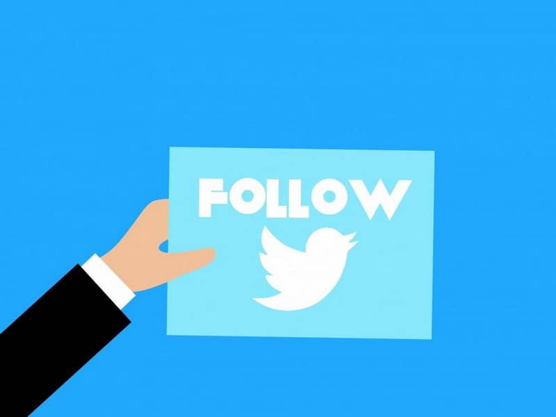 Botón de seguimiento de Twitter