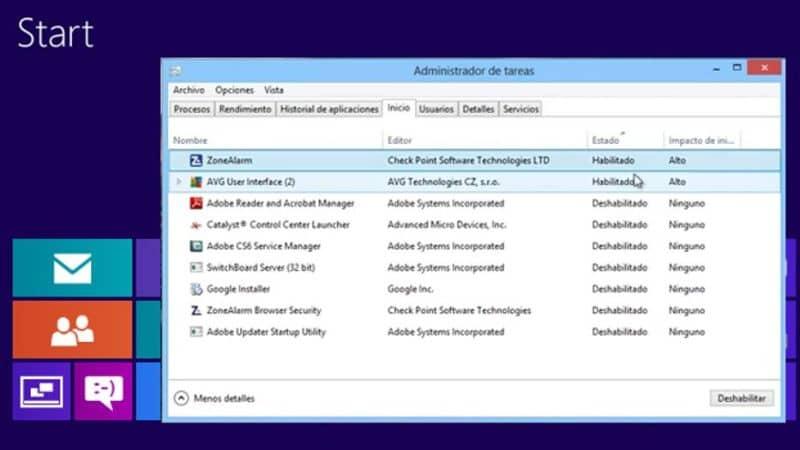 computadora de gestión de tareas