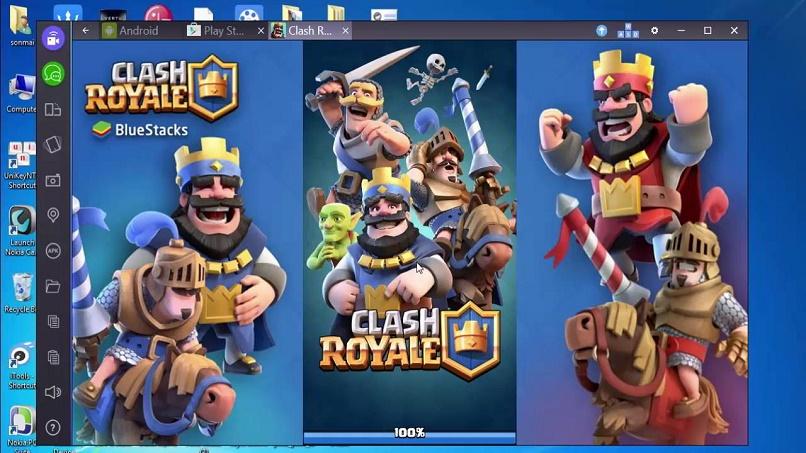 jugar a la computadora clash royale a través de emuladores