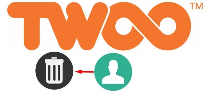 Flecha del logo de la aplicación de basura