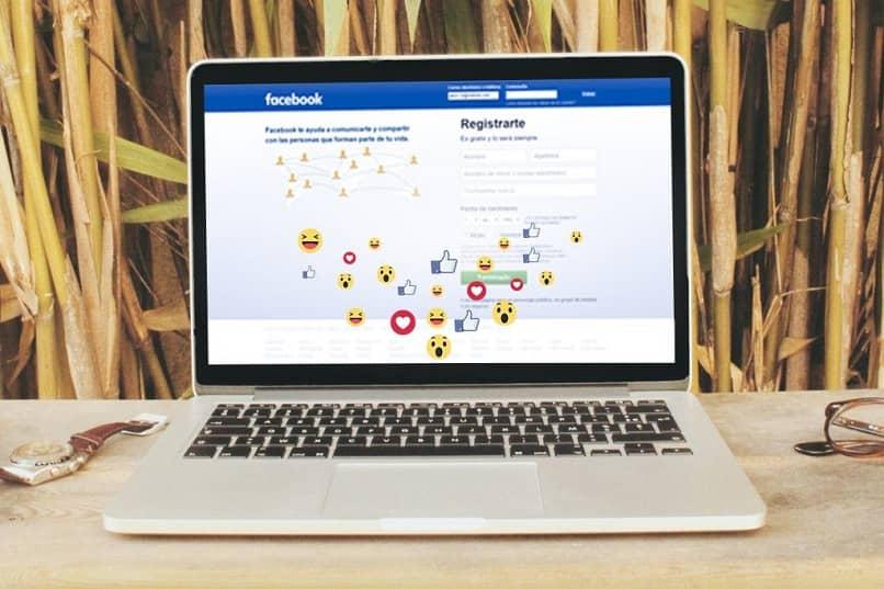iniciar sesión en facebook en la computadora portátil