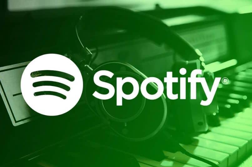Señales de auriculares de Spotify verde