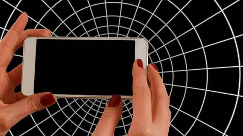 pantalla negra móvil