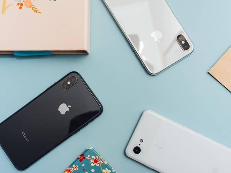 tipos de colores de iphone