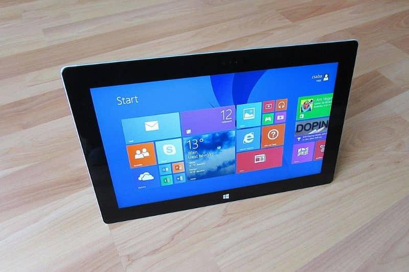 Tableta con pantalla táctil Windows 10