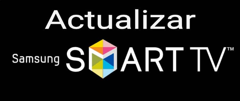 smart tv fondo negro