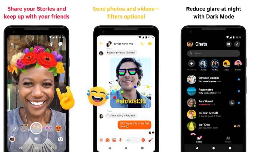 videollamadas móviles facebook messenger