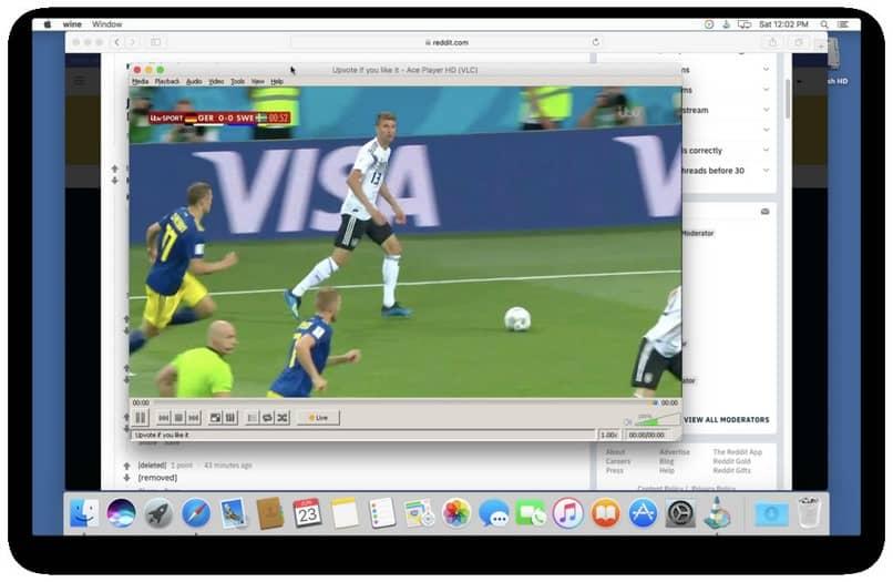 aplicación de transmisión de video mac
