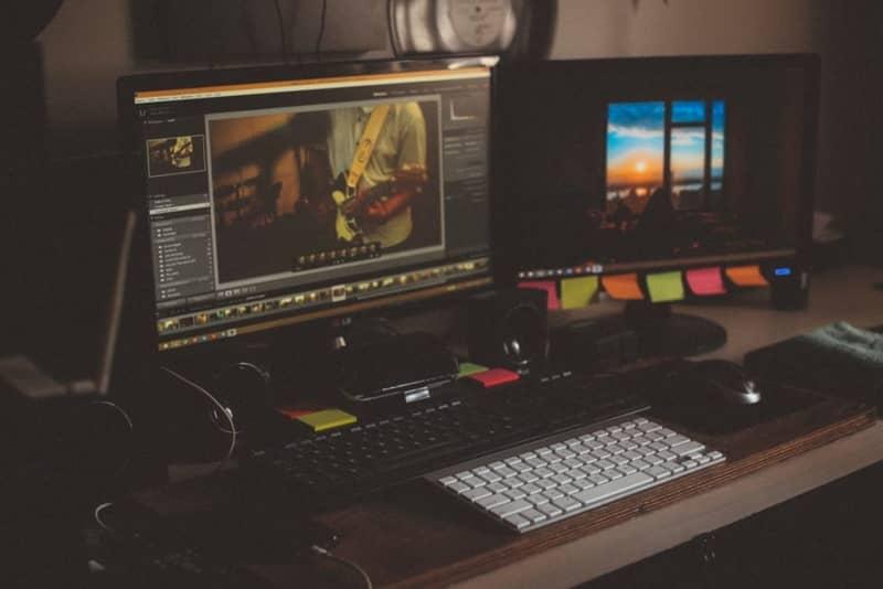 estación de trabajo de Photoshop