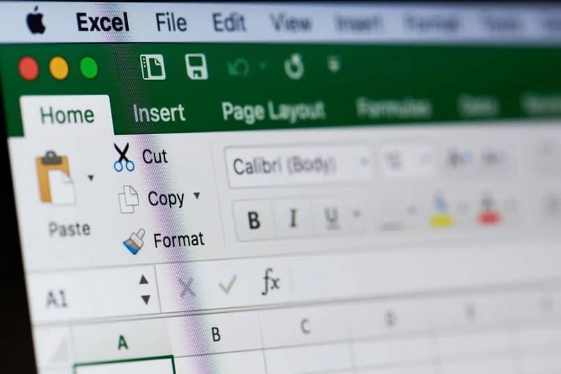 opciones de Excel