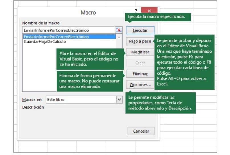 Excel programa x macro