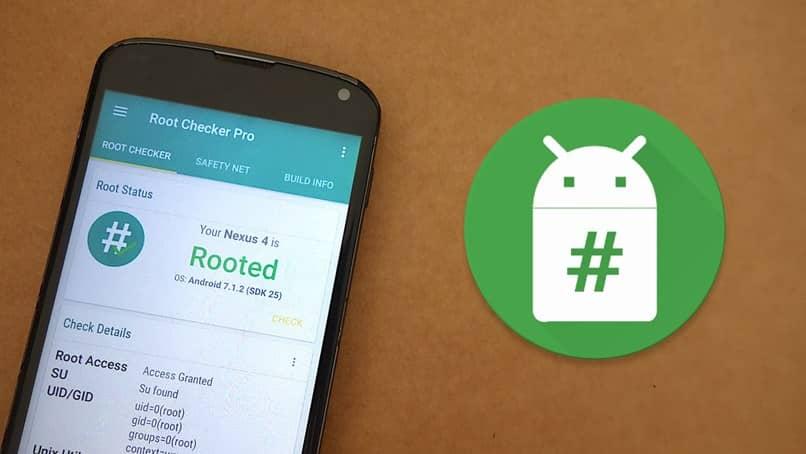 móvil Android numérico
