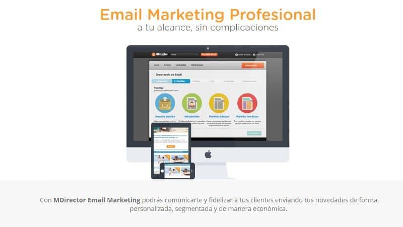 mensajes de texto masivos de Email Marketing
