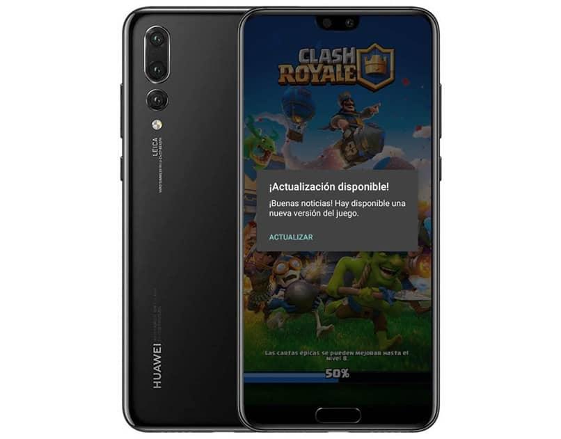 clash royale móvil negro