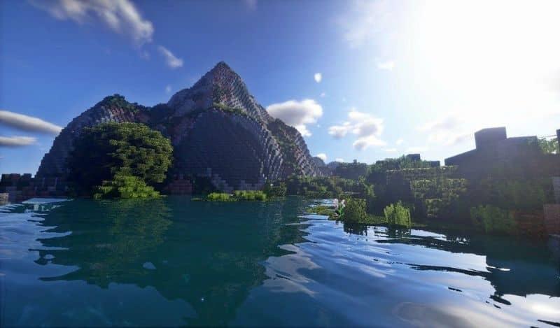 mapa de artesanía en la isla de minecraft
