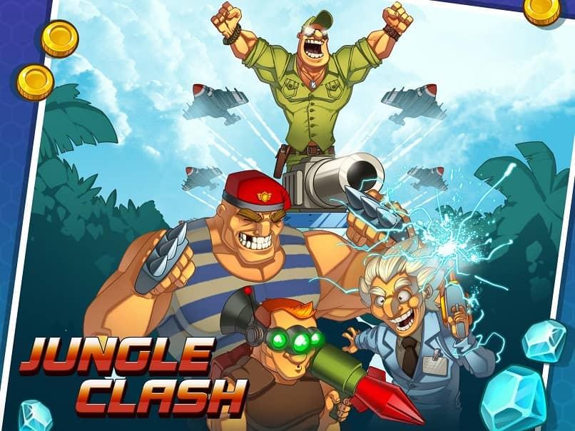 jungle clash es muy similar a clash royale