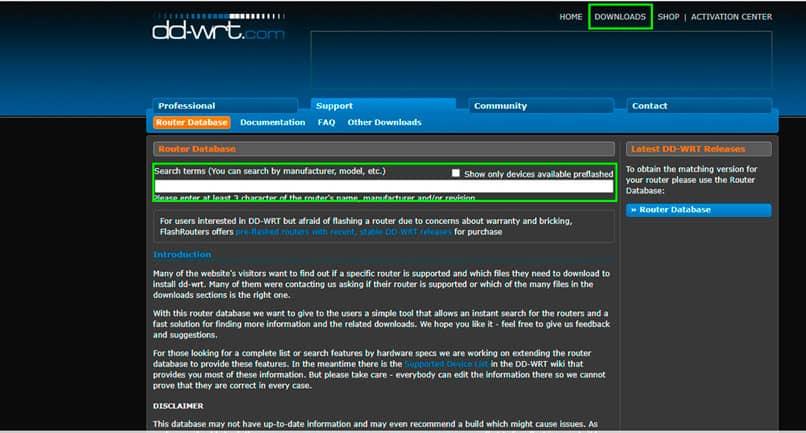 Configuración del router-DD-WRT